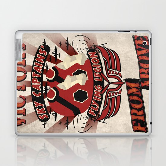 Flying Legion Laptop & iPad Skin