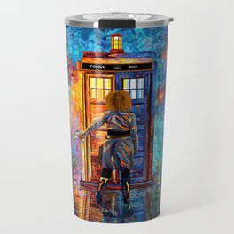 BeautifuL Blondie Mrs River Lost in the strange city Travel Mug