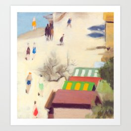 Clarice Beckett - Sandringham Beach, 1933 Art Print