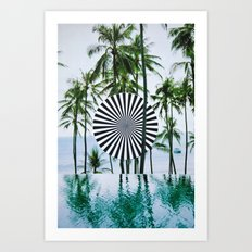 Tropical Trance Art Print