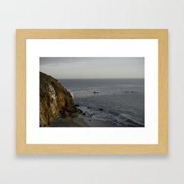 Pointe Dume Framed Art Print