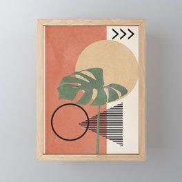 Nature Geometry I Framed Mini Art Print