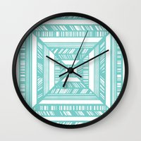 frames Wall Clocks featuring Frames by • Amanda Khoo •