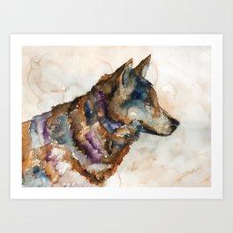 WOLF#1 Art Print