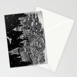 Holiday at Hogwart Stationery Cards