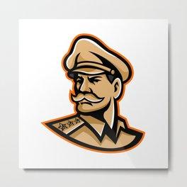 American General Mascot Metal Print