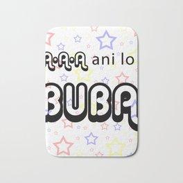A A A Ani lo Buba Bath Mat