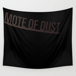 Mote of Dust Sunbeam Logo Wall Tapestry