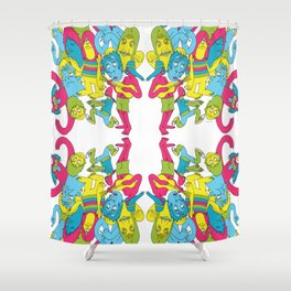 Blast Out Shower Curtain