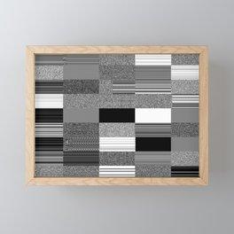 Order Emerging from Chaos or The Joy of Random Boolean Networks 2. Framed Mini Art Print