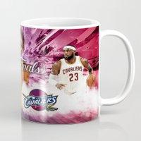 basketball Mugs featuring Basketball  by RickART
