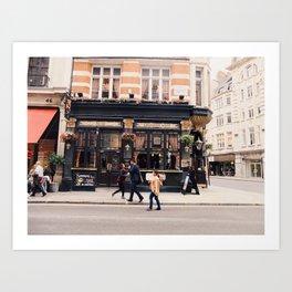 London love #4 Art Print
