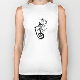 Unicycle Octopus Biker Tank