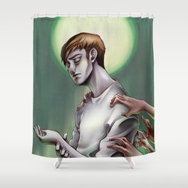In the Flesh  Shower Curtain