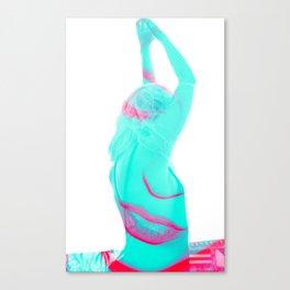 Double Girl Canvas Print