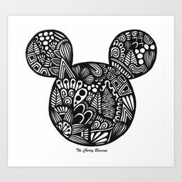 topolino Art Print