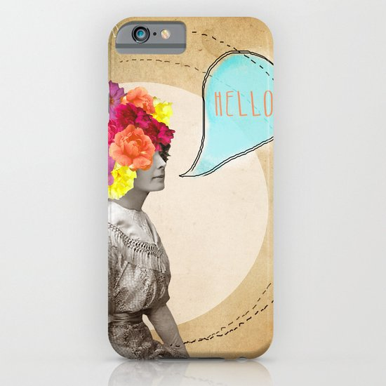 Collage Love - Miss Lady Bird iPhone & iPod Case