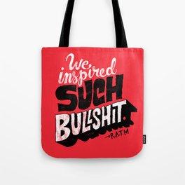 Inspired Bullshit Tote Bag