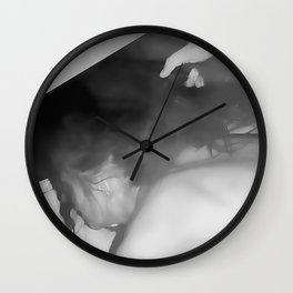NSFW! Adult content! Cartoon sex play, deep, deep, even deeper sex Wall Clock