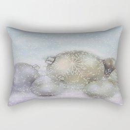 Romantic Christmas Rectangular Pillow