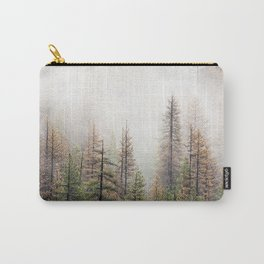 Misty Forest Scene Carry-All Pouch