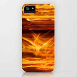 Playing with Fire 13 iPhone Case
