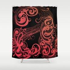 A A Shower Curtain