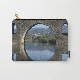 Portugal, the Costa Verde, Ponte de Lima bridge Carry-All Pouch