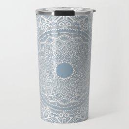 Dedication to Dalton (gray-blue) Travel Mug