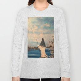 Atlantean Priestess Long Sleeve T-shirt