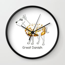 Dog Treats - Great Danish Wall Clock