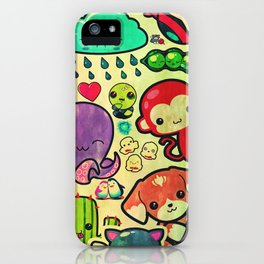 Characters iPhone Case