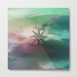 WIND ROSE III Metal Print