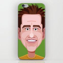 Comics of Comedy: Jim Carrey iPhone Skin