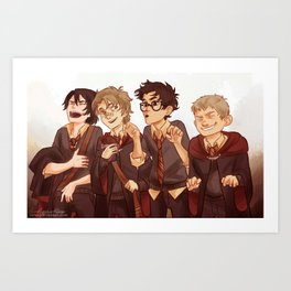 little marauders Art Print