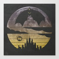 bat Canvas Prints featuring Bat by Kody Christian