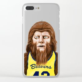 Teenwolf Clear iPhone Case