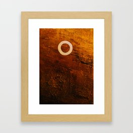 seed the earth with gold Framed Art Print