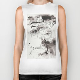 questioning the muse (again) Biker Tank