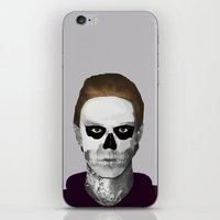 ahs iPhone & iPod Skins featuring AHS : PSYCHOPATH by Andrea Valentina
