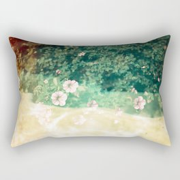 A place of flowers Rectangular Pillow