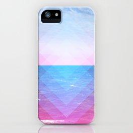 Sea Diamonds iPhone Case