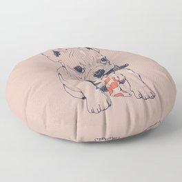 FRENCH BULLDOG BOSS Floor Pillow