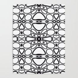 fancy grid Poster