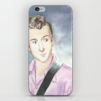 alex turner iPhone & iPod Skins featuring Alex Turner by SirScm
