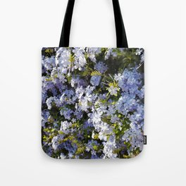 a violet flower in the heart of Athens Tote Bag
