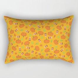 Pumpkin Spice Latte Rectangular Pillow