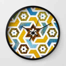 Moroccan Bliss #society6 #decor #buyart Wall Clock