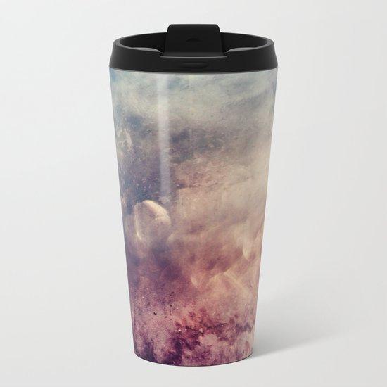 Coffee Texture Metal Travel Mug