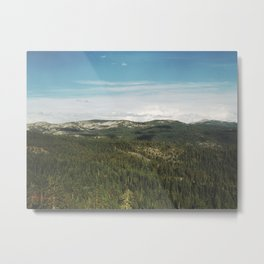 California Landscape Metal Print